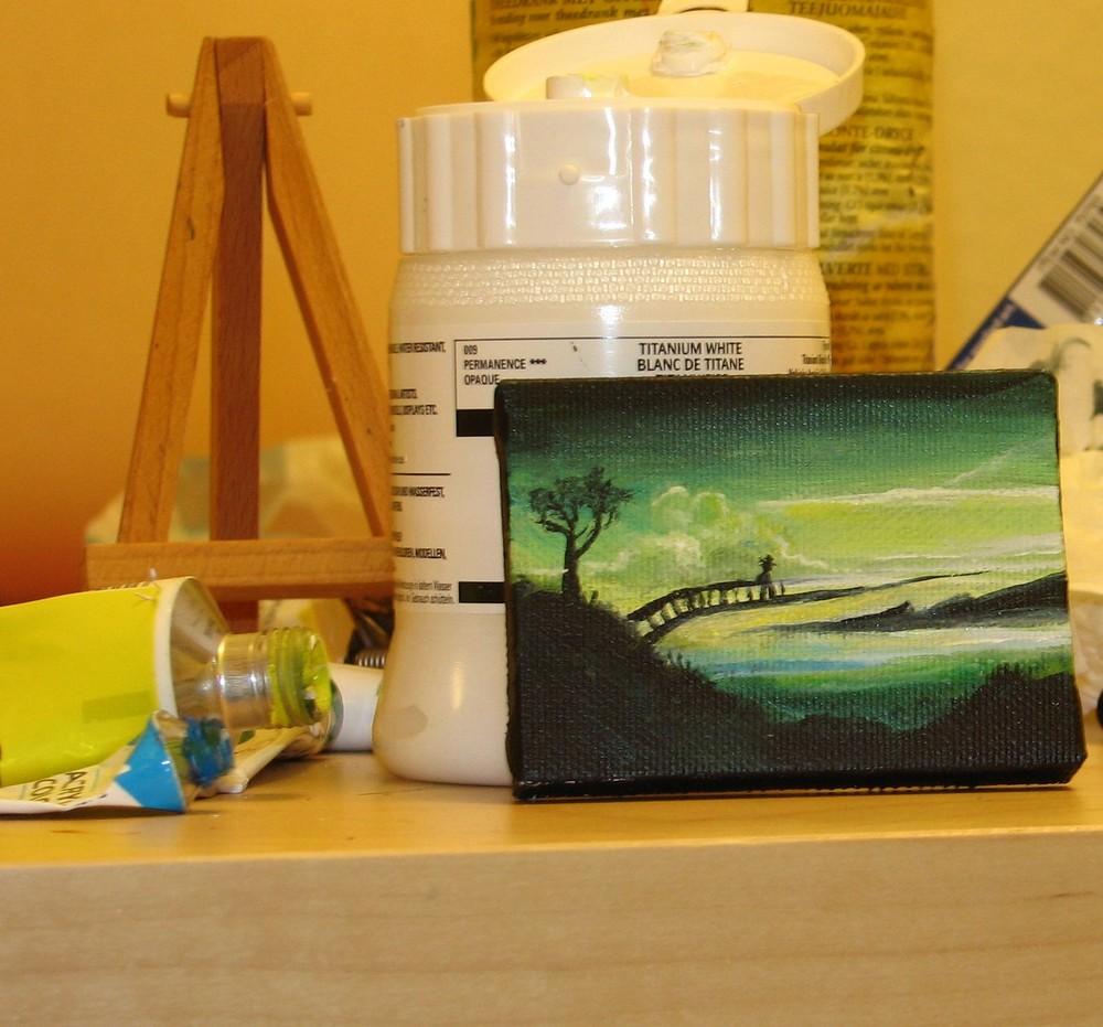 Stillleben einer Malerin