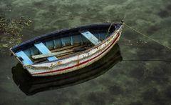Stillleben mit Boot