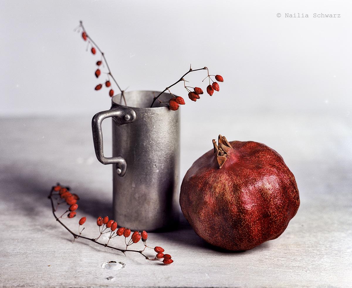 Stillleben mit dem Granatapfel