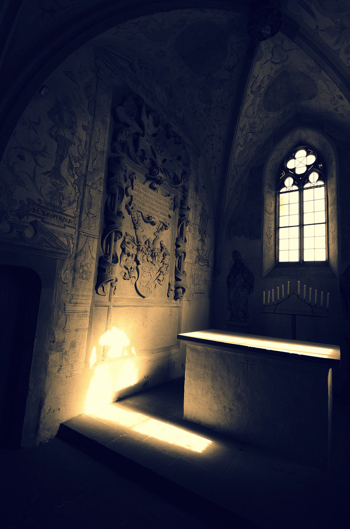stillness and light