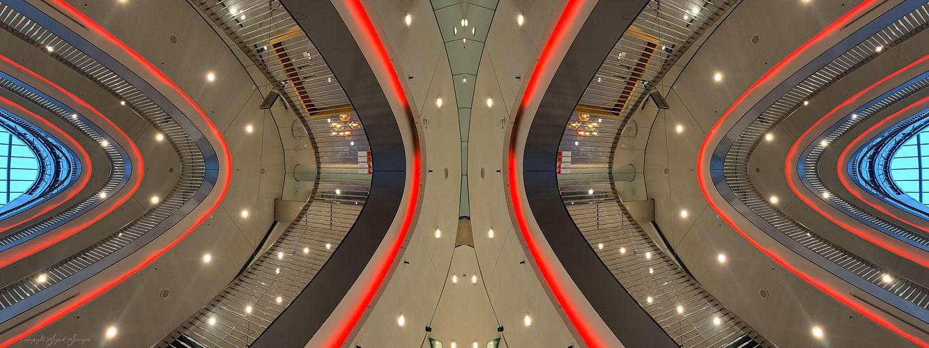 Stilwerk Düsseldorf gespiegelt