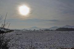Stimmung am 25.12. 12 im Böhmischen Mittelgebirge