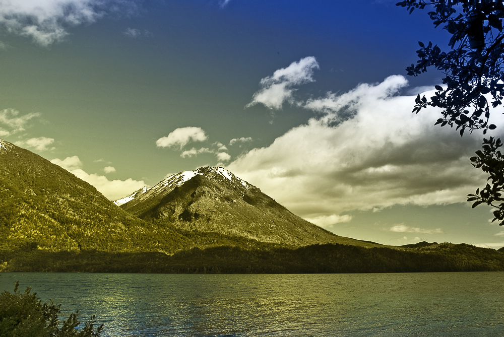 "Stimmung am ""Lago Nahuel Huapi"""