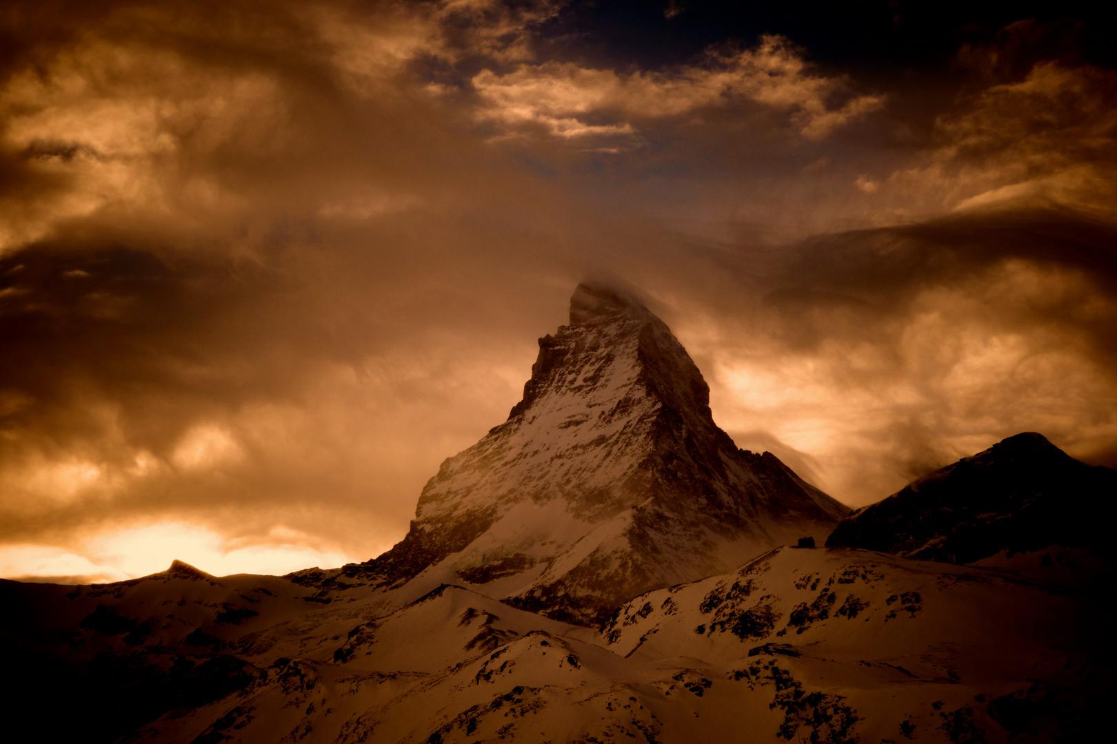 Stimmung am Matterhorn