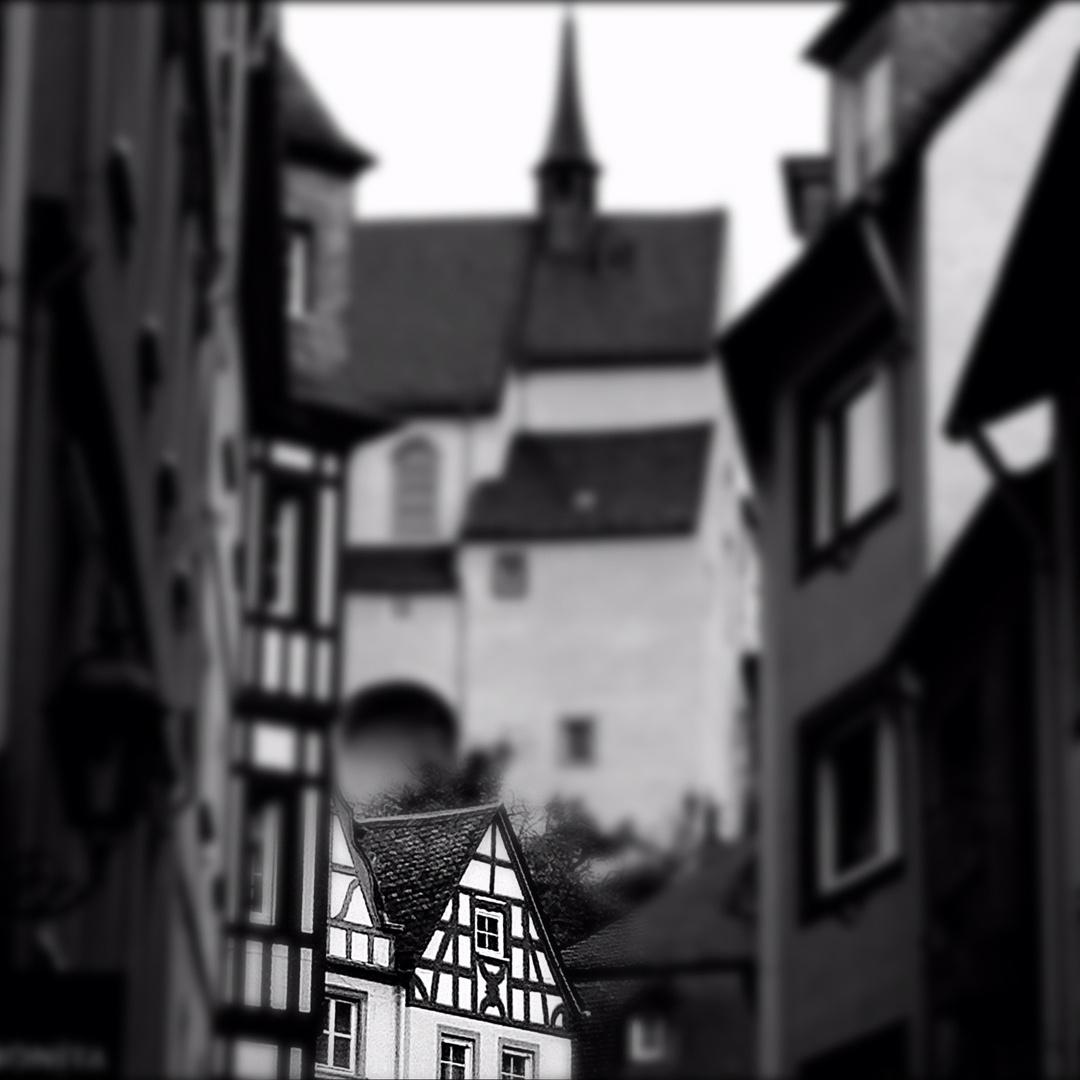 Stimmung in der Altstadt von Cochem