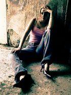 Stimmung.........ein Model....Licht und Schatten......Farben....