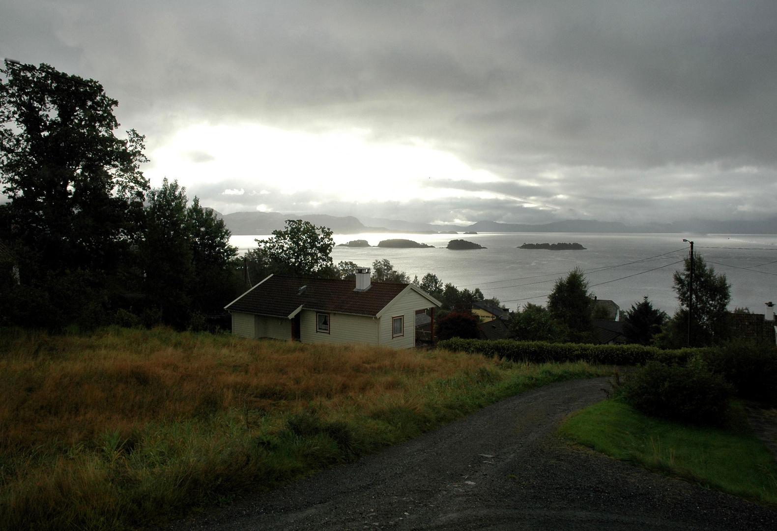 Stimmungsvoller Hardanger Fjord (Norwegen) 2005