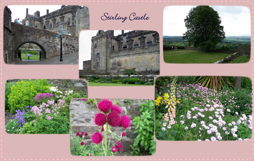 Stirling Castle - hinter dem Schloss