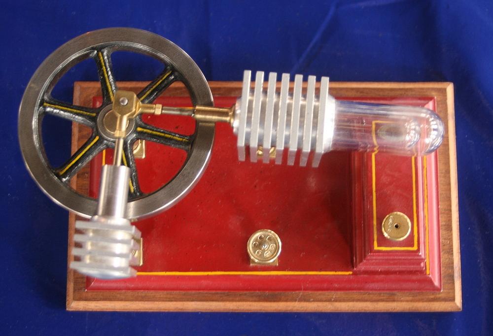 Stirlingmotor (Heißluftmotor)