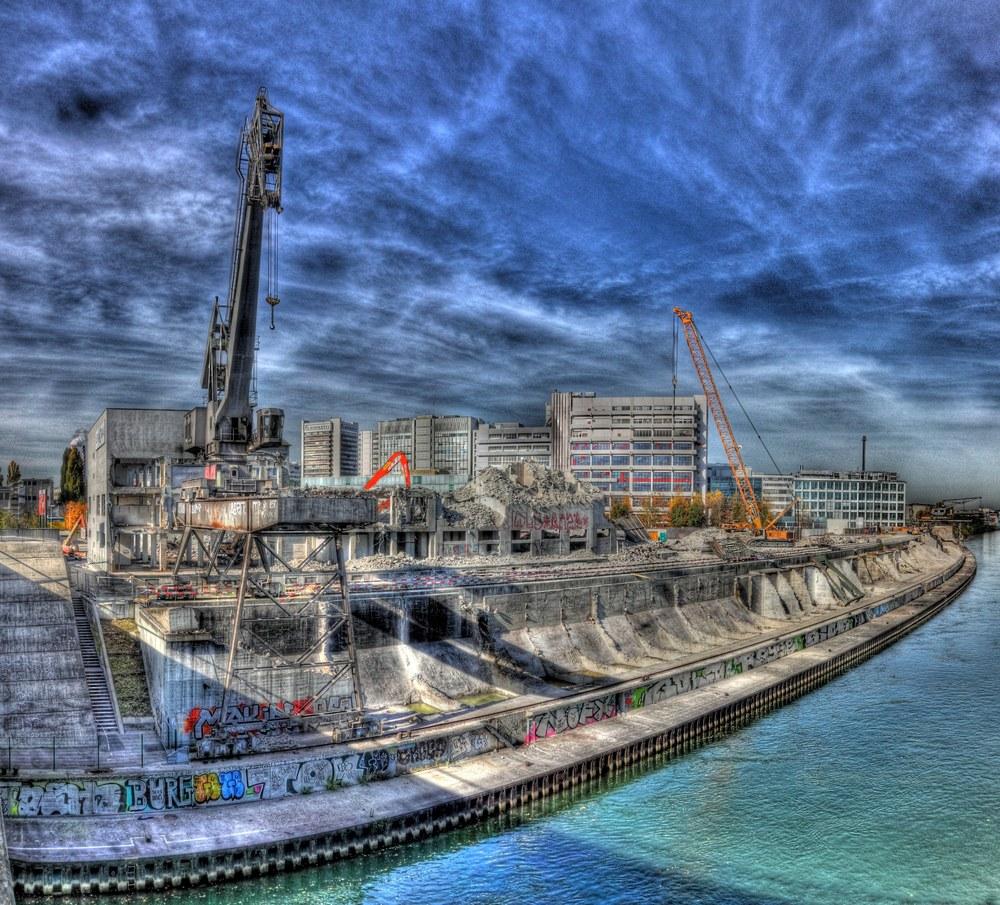 St.Johann Hafen abbruch