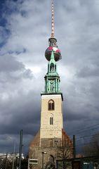 St.Marienkirche mit Aufsatz