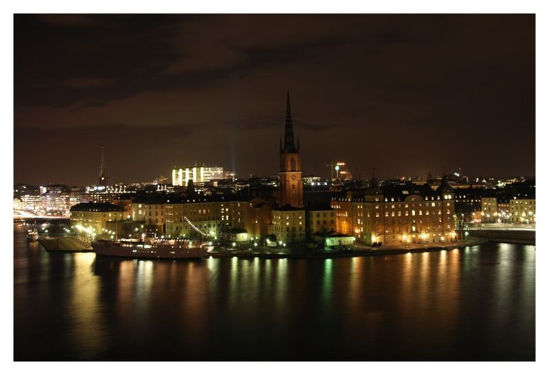 Stockholm by Night