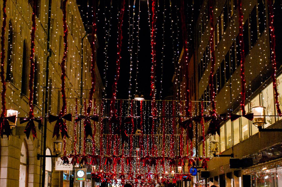 Stockholm im Advent - Norrmansgatan