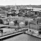 Stockholm mit Gamla Stan und Reichstag. Schweden
