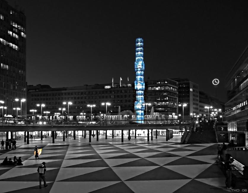 Stockholm @ night