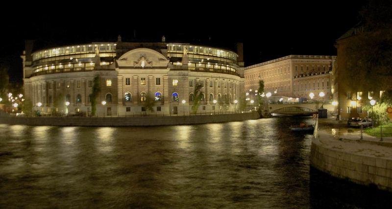 Stockholm Reichstagsgebäude