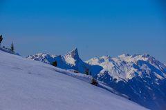 Stockhornkette vom Niederhorn aus gesehen