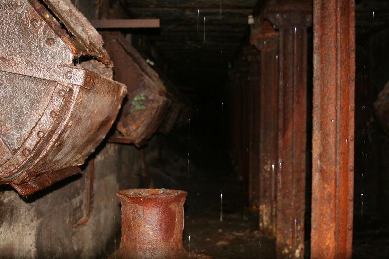 Stollen am Bunker