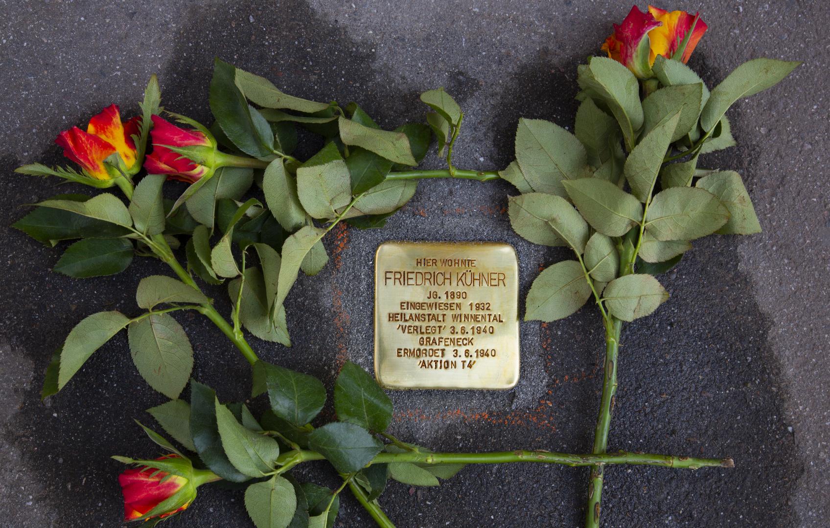 Stolperstein für Friedrich Kühner