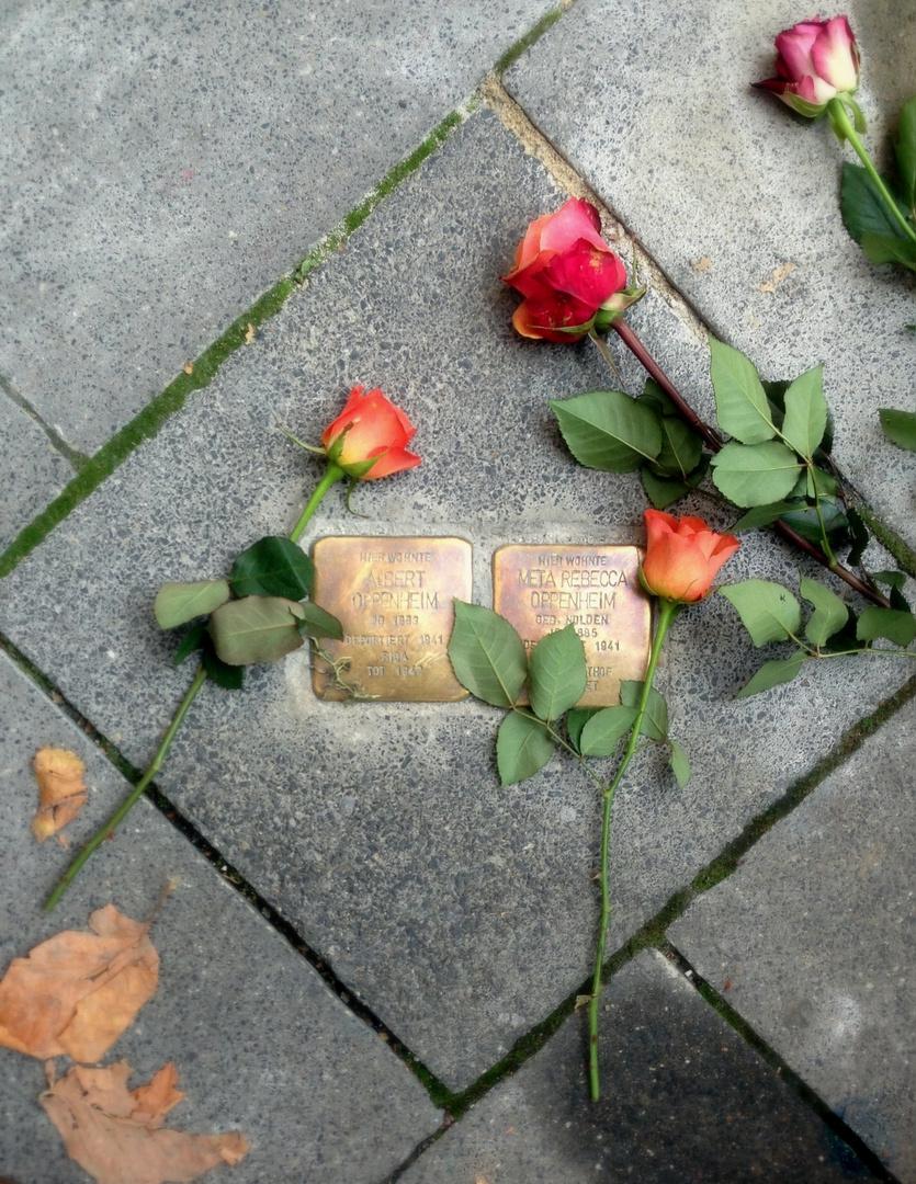 Stolpersteine in Kassel - Gunter Demnig wird heute 67