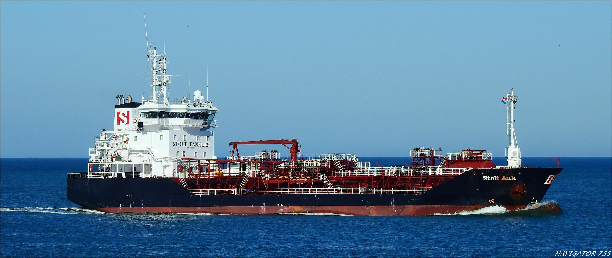 Stolt AUK, Oil/Chemical Tanker, Rotterdam.