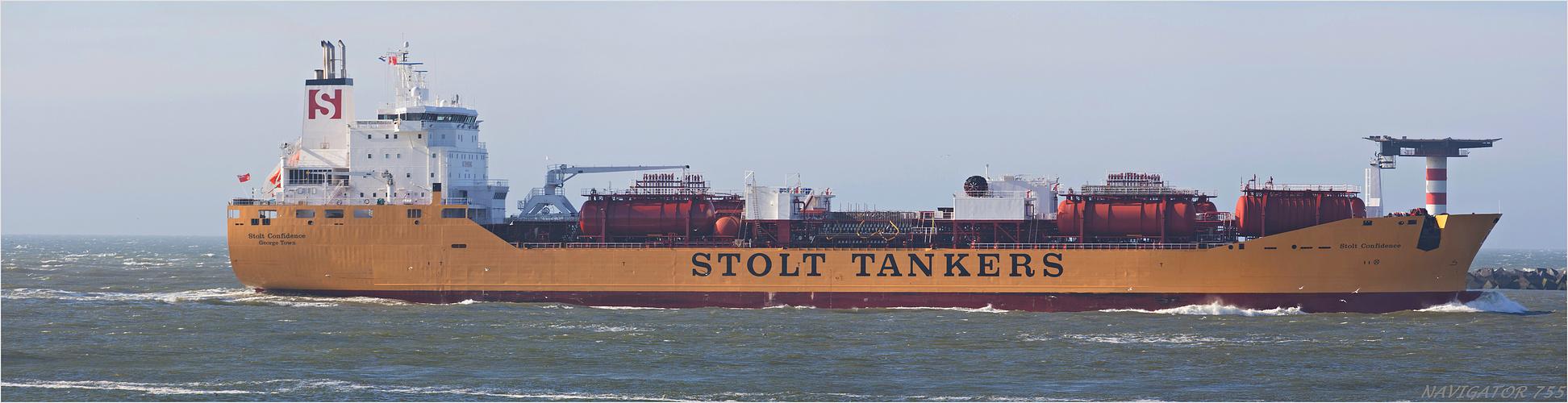 STOLT CONFIDENCE / Oil/chemical Tanker   /   Bitte scrollen!