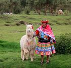stolze Peruanerin