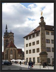 Stolze Stuttgarter Stiftskirche