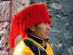 Stolzer Tibeter