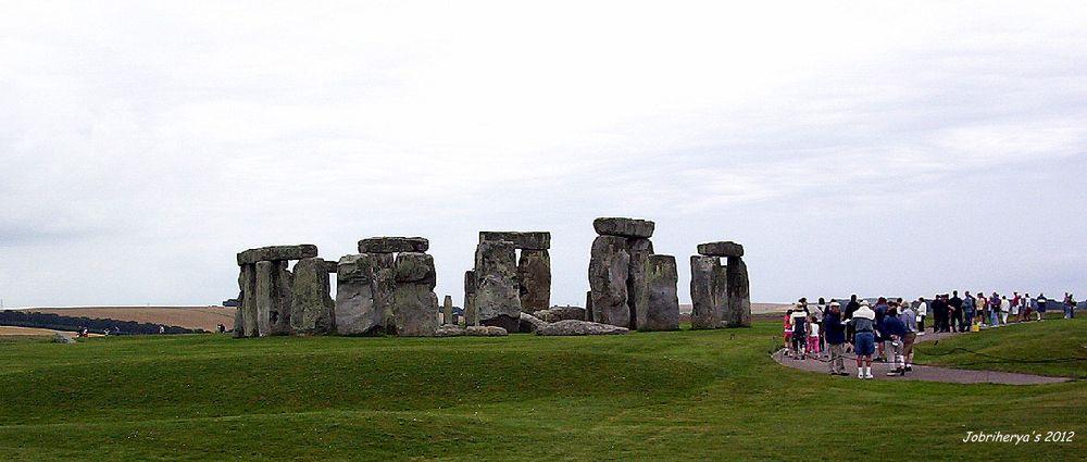 Stonehenge, Angleterre ....
