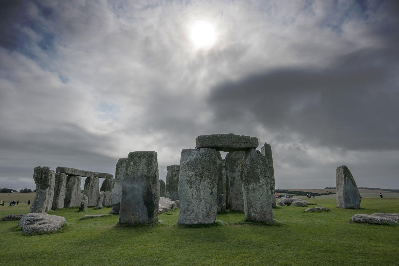 Stones Against a Backlit Sky