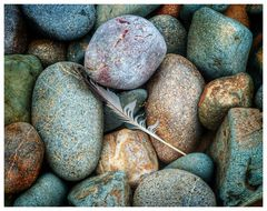 Stones and Feather