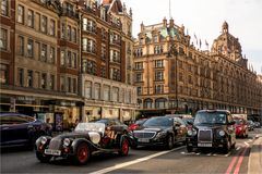 Stop and Go bei Harrods