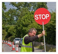 Stop auf irisch