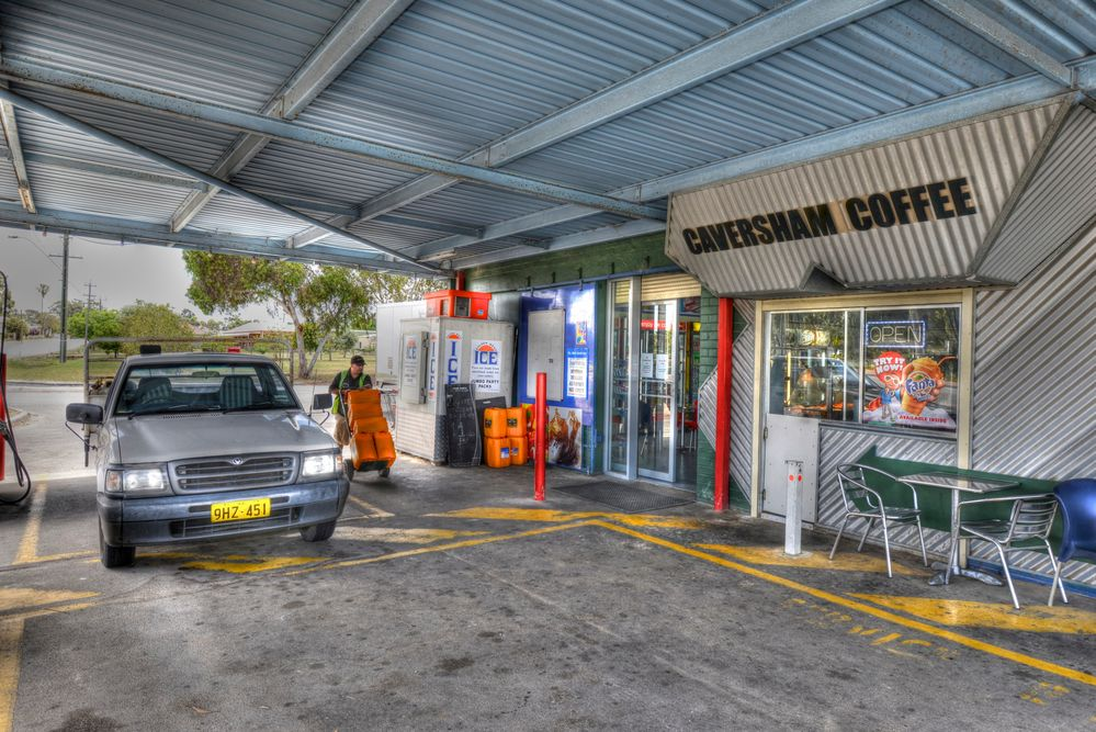 Stoping For Petrol