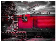 STOPP am Bahnübergang