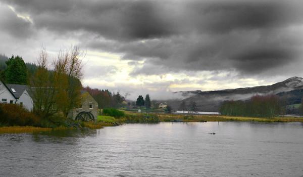 Storm at Loch Tummel