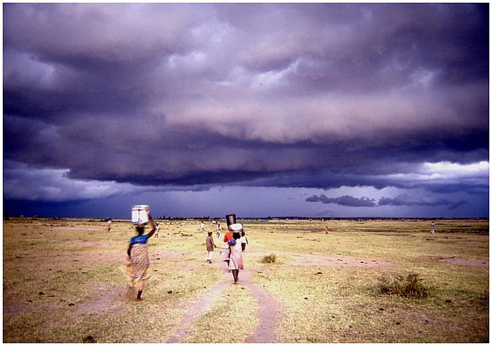 Storm at the Lake Viktoria