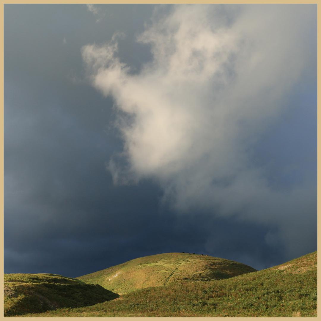 storm cloud above shillmoor
