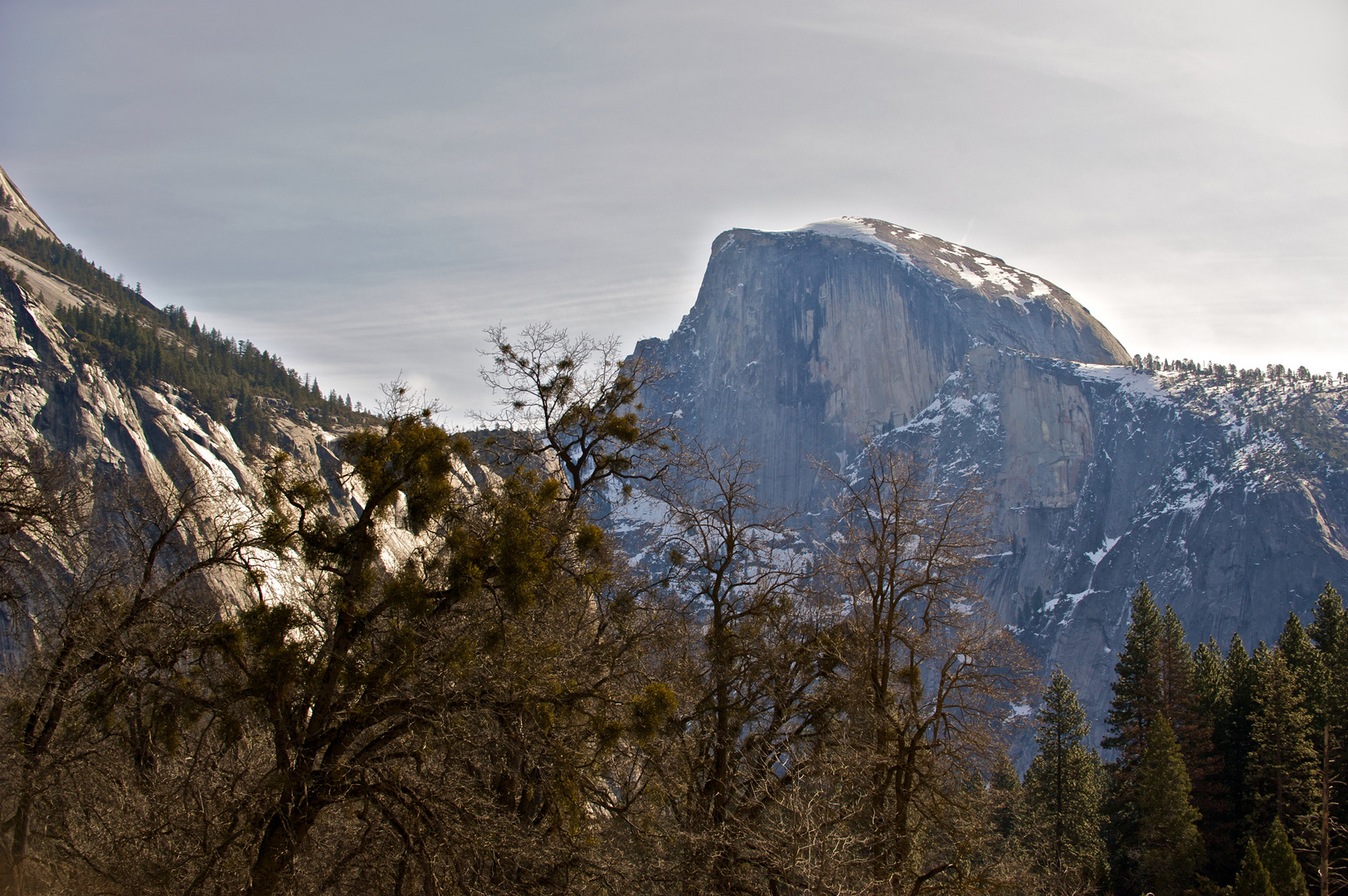 Storm Clouds over Half Dome