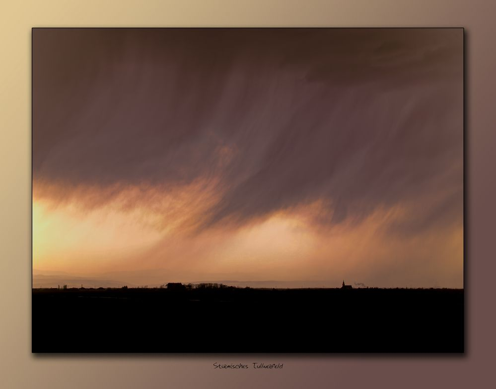 stormy day im tullnerfeld