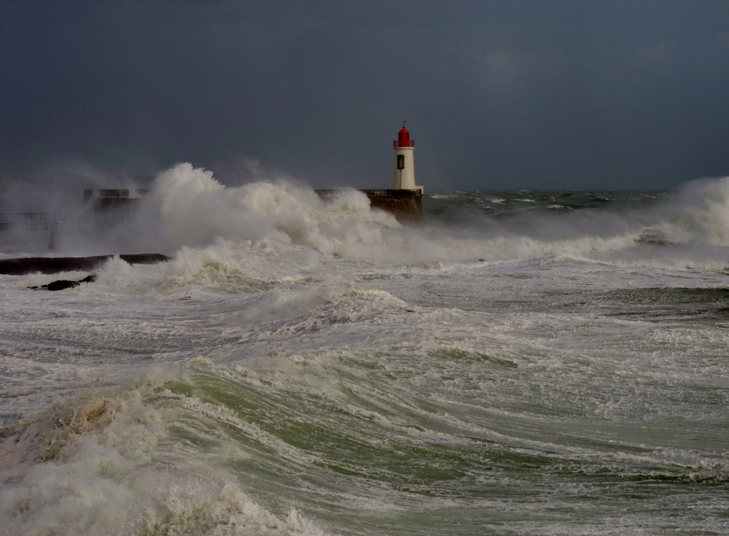 Stormy weather ...