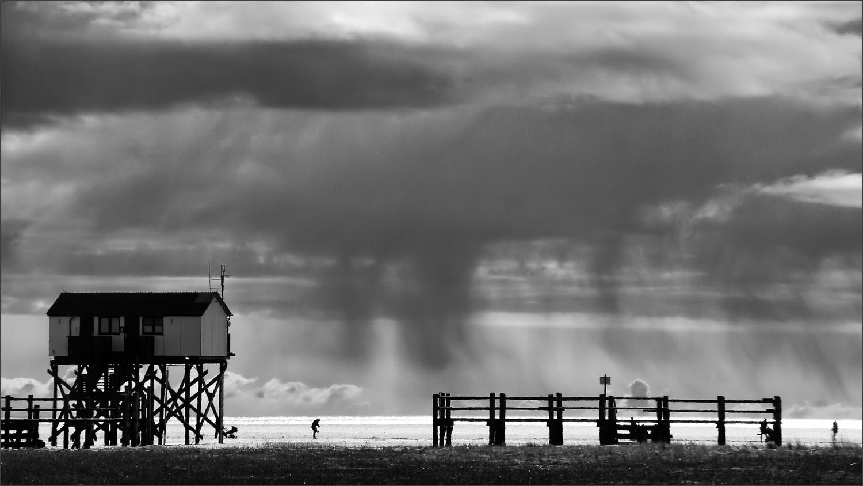 * Stormy weather *