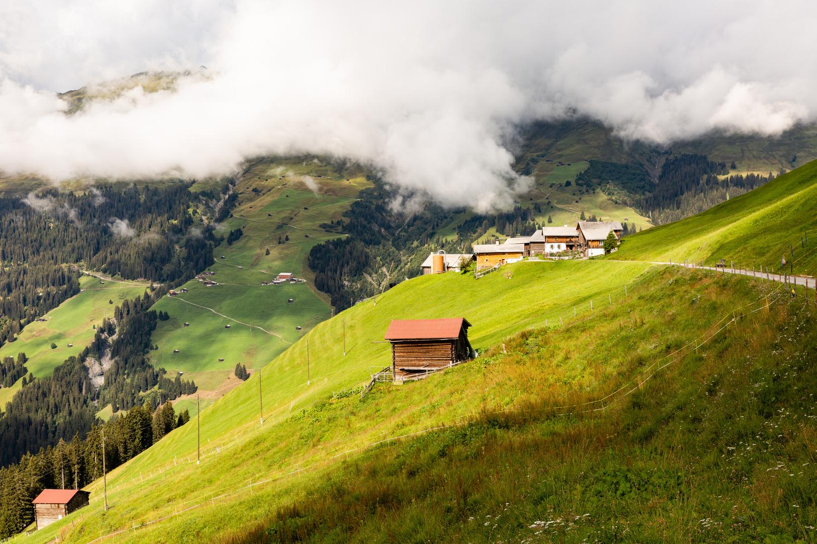 """Stotziges"" Land im Alpenraum"