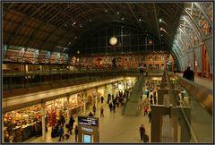 St.Pancras station...