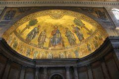St.Paul vor den Mauern - Innen Kuppel