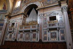 St.Paul vor den Mauern - Innen Orgel