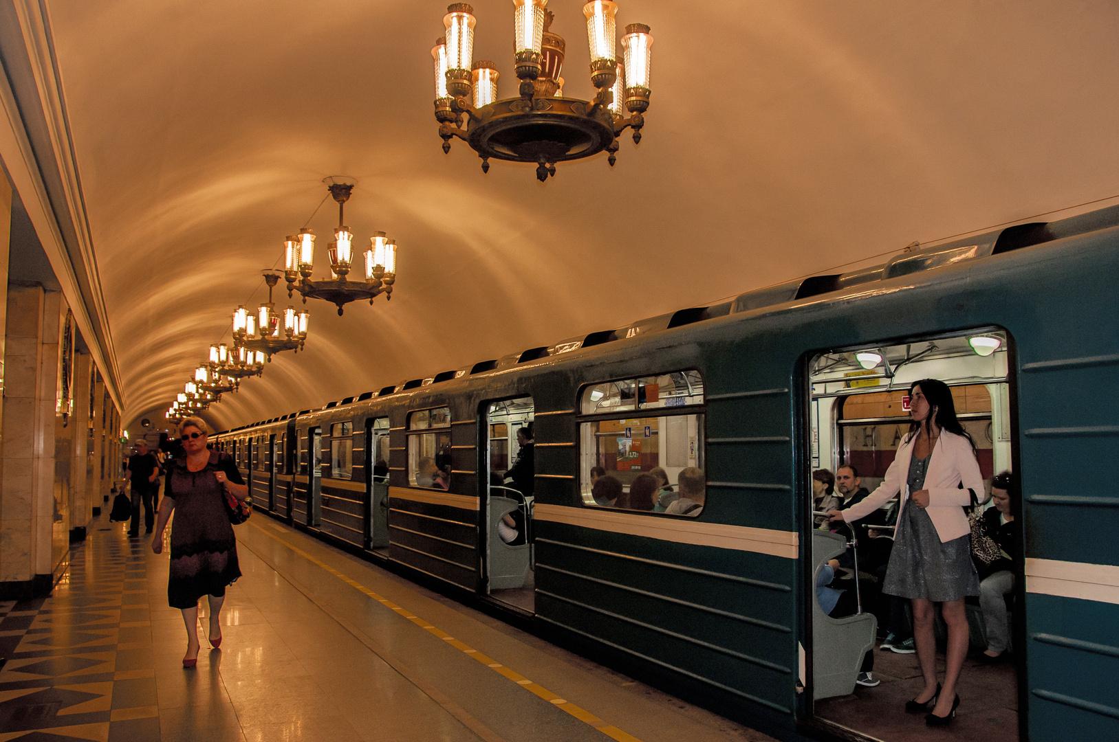 St.Petersburgs Meteo ist schnell, billig-und prachtvoll