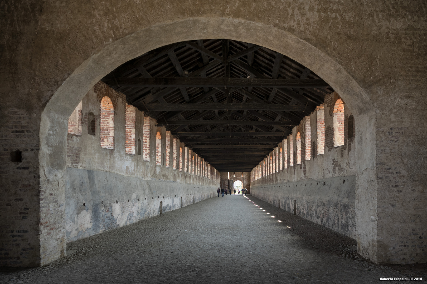 Strada coperta, Castello Visconteo di Vigevano