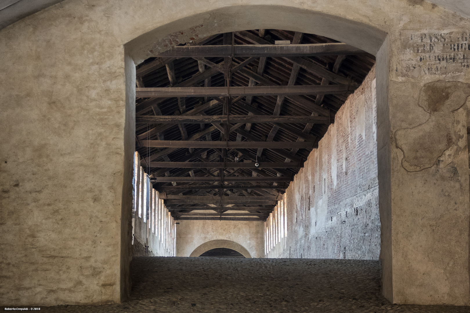 Strada Coperta del Castello di Vigevano